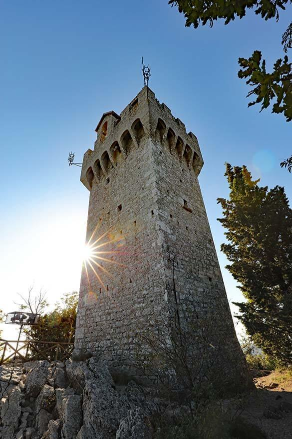 Montale Tower in San Marino