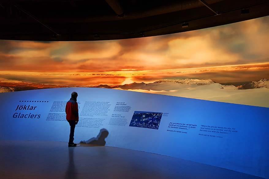 Perlan Museum is also a great place to visit in Reykjavik when it rains or in the winter