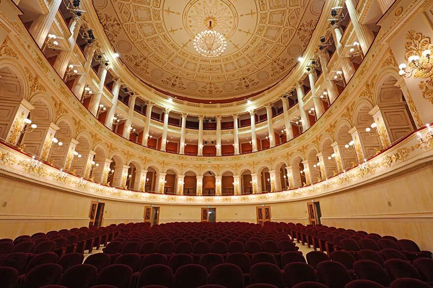 Teatro Amintore Galli - Theater in Rimini Italy