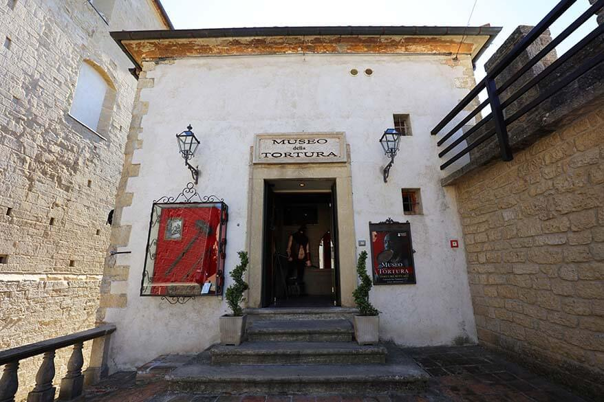 Torture museum in San Marino