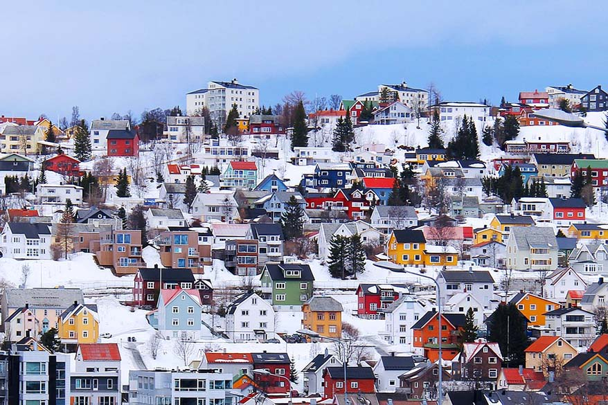 Tromso town center is the best area to stay in Tromso Norway