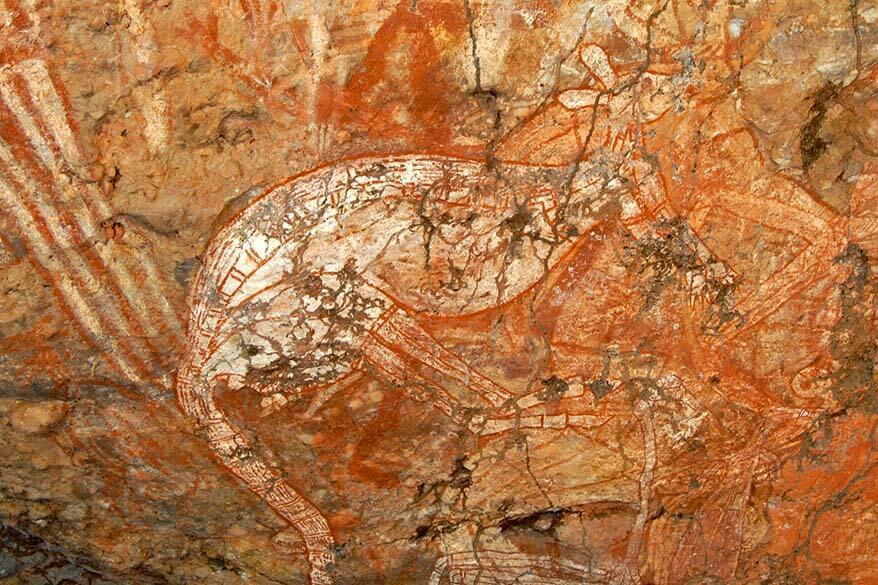 Ubirr rock art is must see in Kakadu National Park Australia