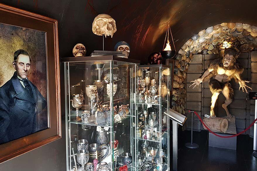 Vampire Museum - one of the unusual places to see in San Marino