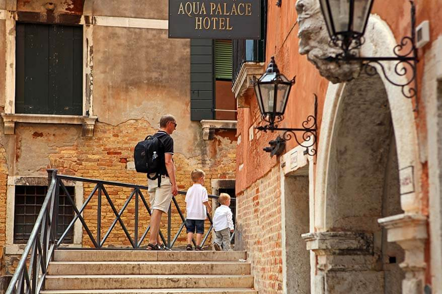 Venice with babies or toddlers - our experience