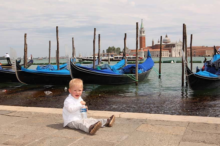 Venice with little kids