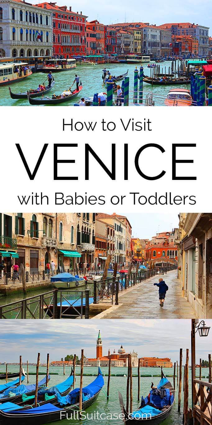 What to know about visiting Venice with baby or toddler