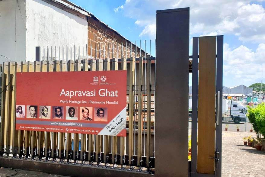 Aapravasi Ghat World Heritage Site - historic landmark to visit in Mauritius