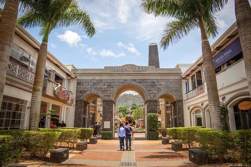 Bagatelle Mall - great local place to visit in Mauritius