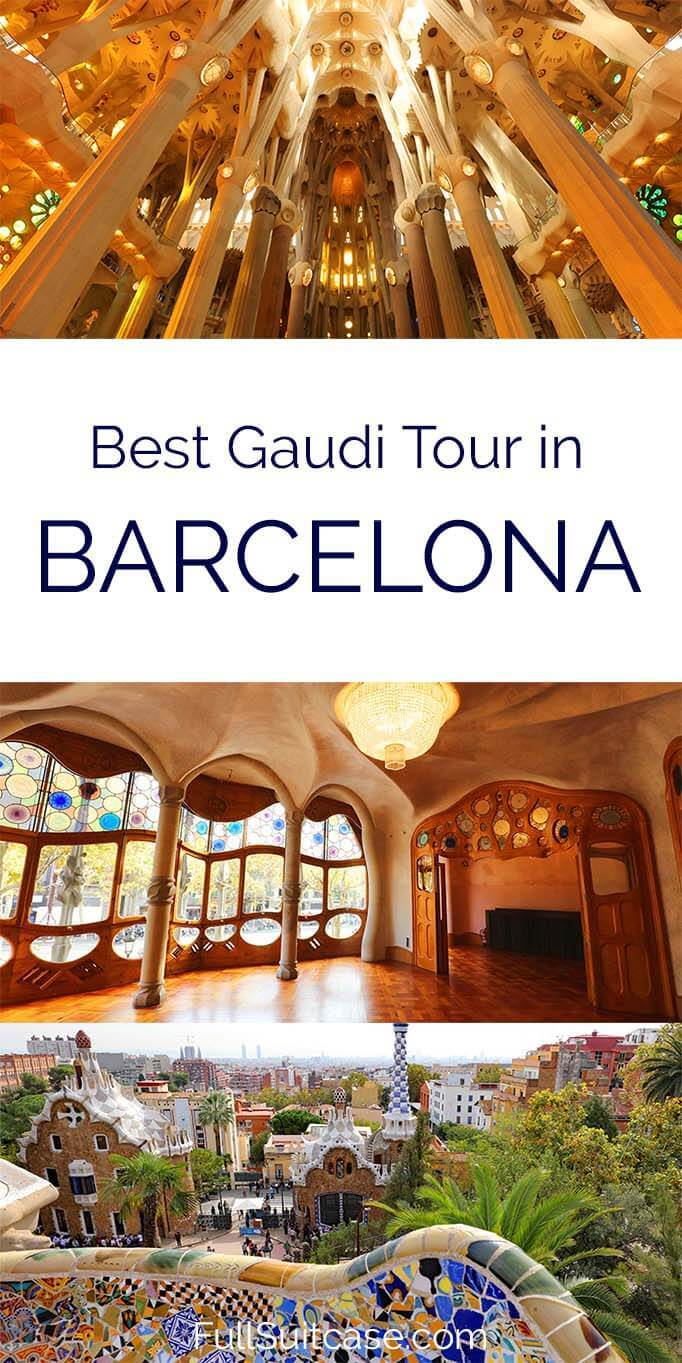 Best Barcelona Gaudi tour that includes all the best Gaudi buildings
