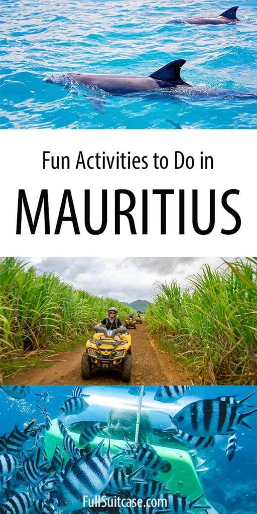 Best activities in Mauritius