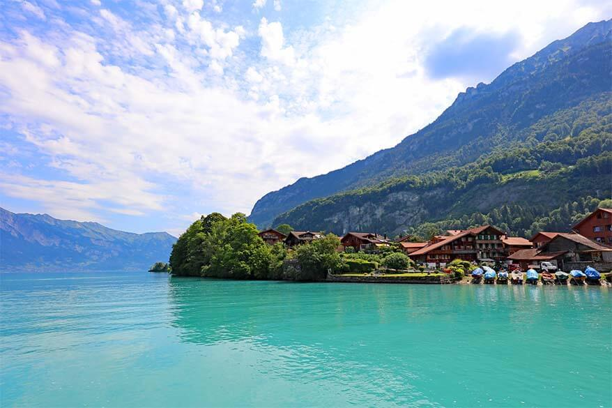 Brienzersee - one of the best places to see in Interlaken