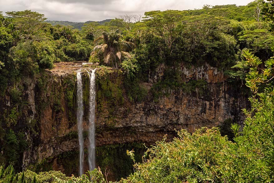Chamarel Waterfall - one of the best places to visit in Mauritius