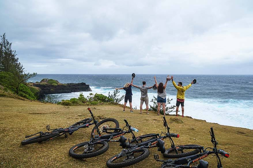 Fun activities in Mauritius - E-biking on the south of the island