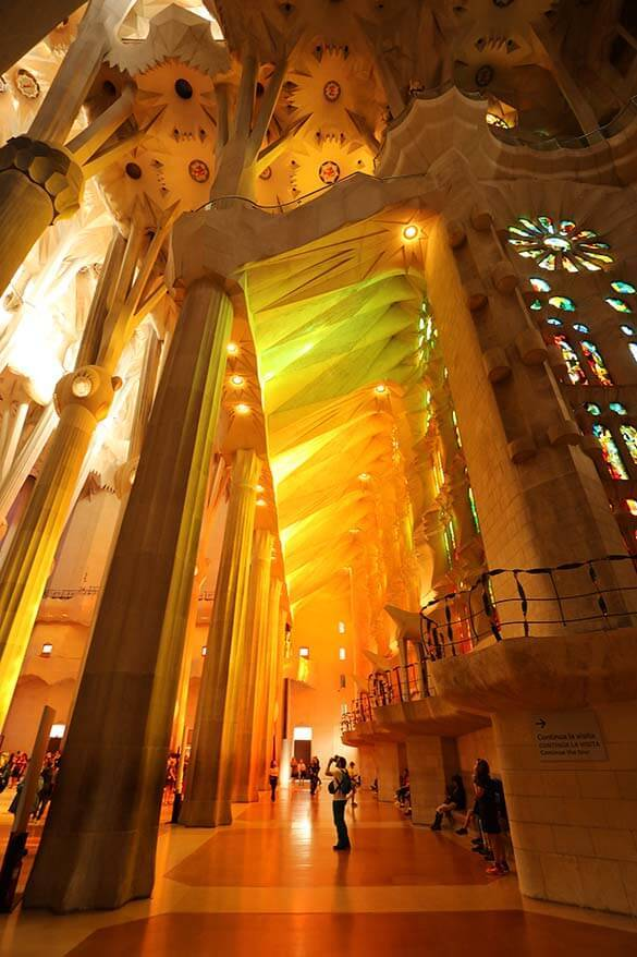 Gaudi Sagrada Familia is must see in Barcelona
