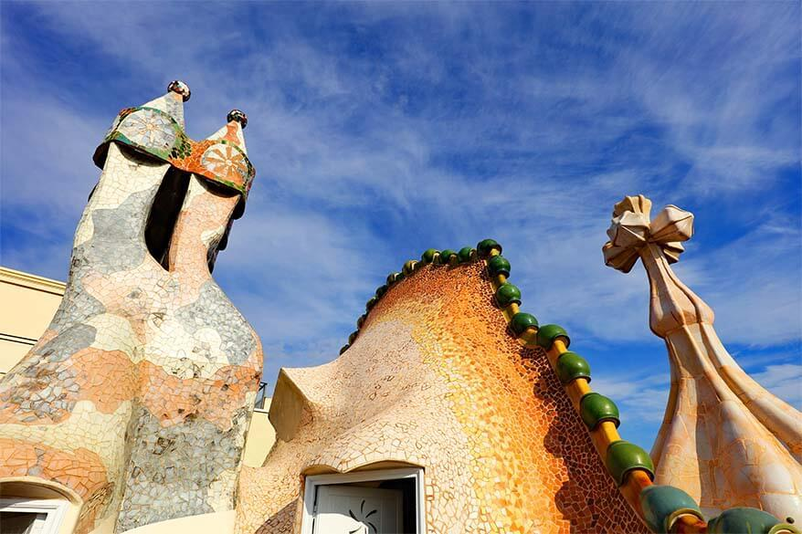 Gaudi architecture is must see on any trip to Barcelona