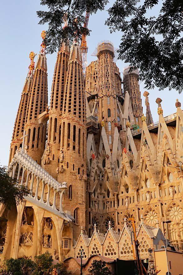 Gaudi's La Sagrada Familia is the highlight of any Barcelona architecture tour