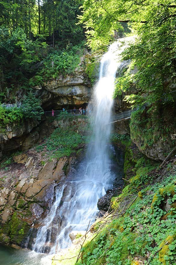 Giessbach Waterfalls are one of the best Interlaken attractions