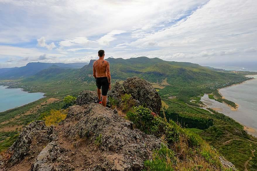 Hiking Le Morne - the best hike in Mauritius