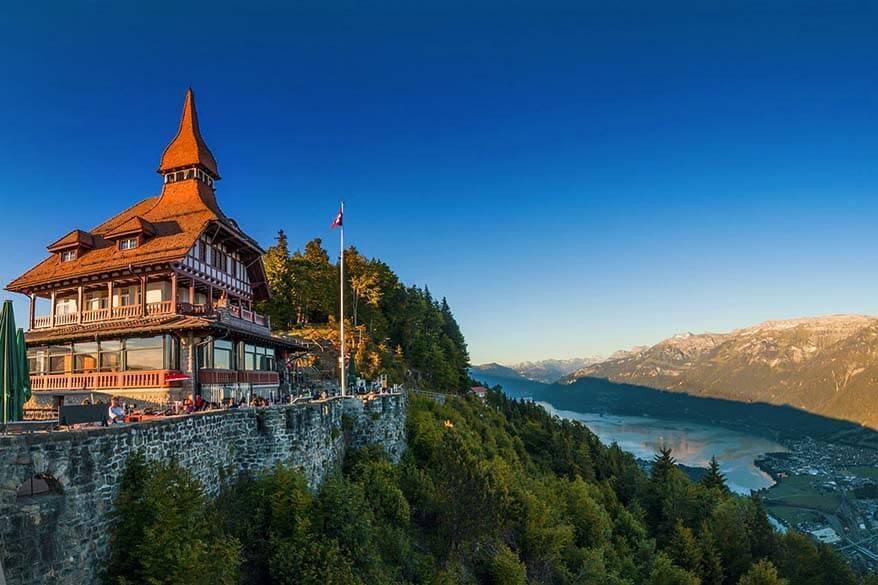 How to visit Interlaken in Switzerland - Harder Kulm is not to be missed
