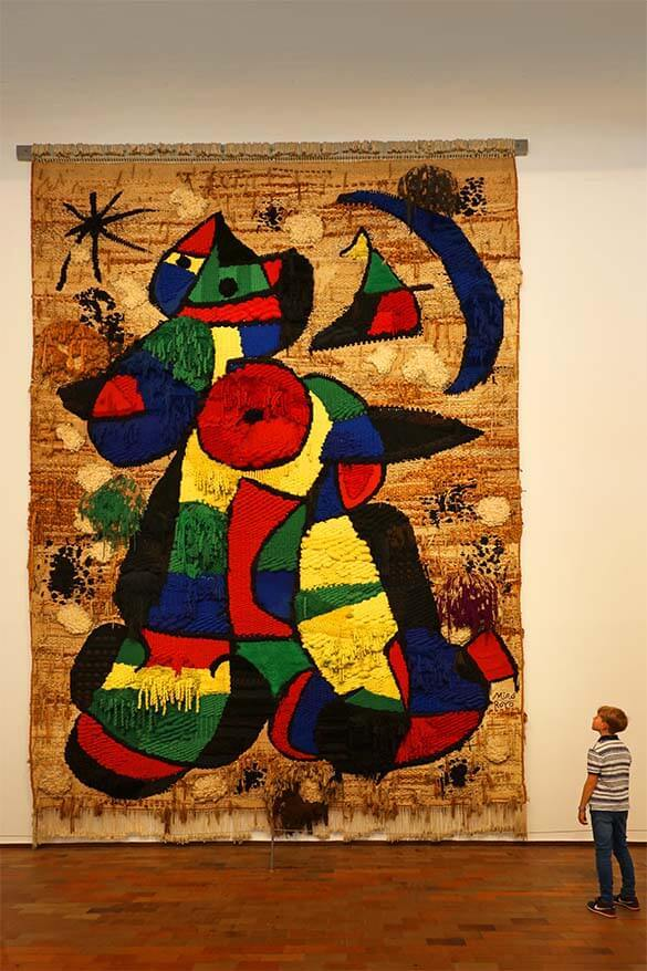 Joan Miro Foundation - one of the best museums in Barcelona Spain