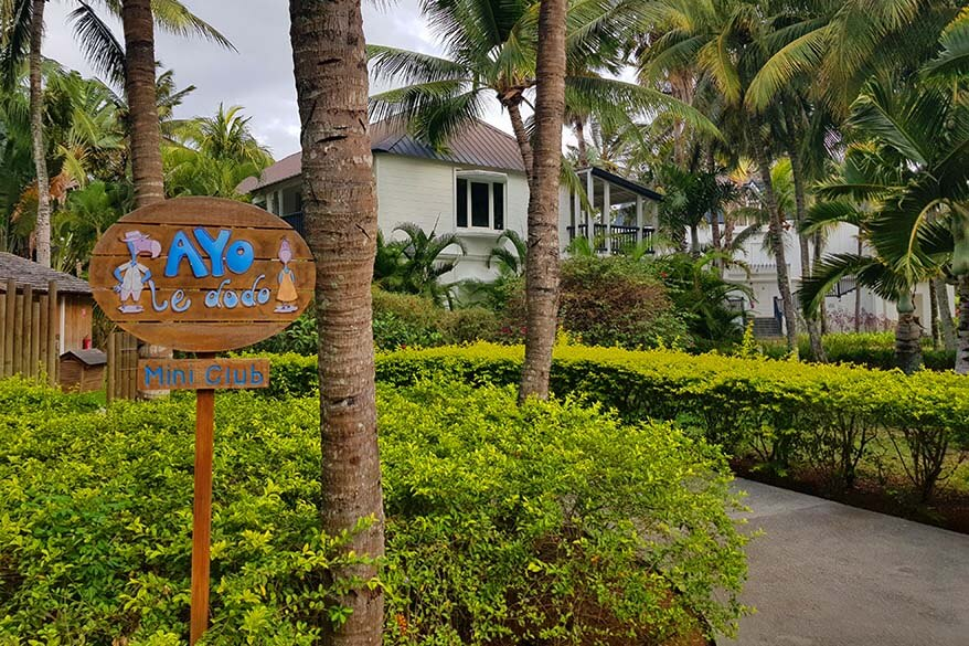 Kids club at The Ravenala Attitude hotel in Mauritius