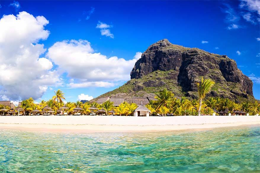 Le Morne - one of the best places to see in Mauritius