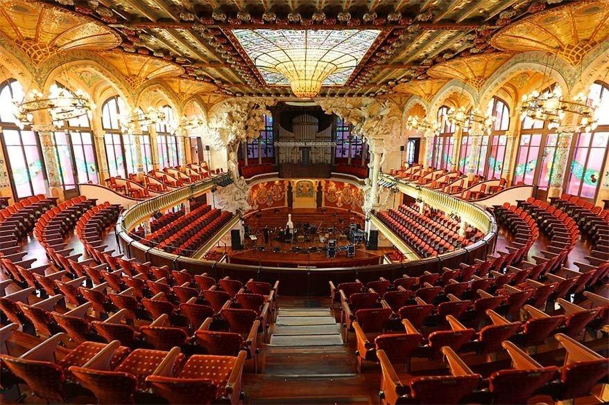Palau de la Musica Catalana - a hidden gem of Barcelona