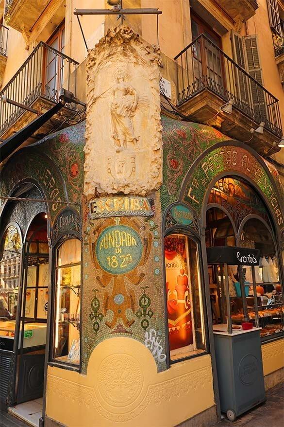 Pasteleria Escriba in Barcelona
