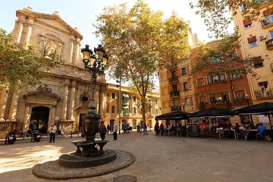 Placa de la Barceloneta in Barcelona