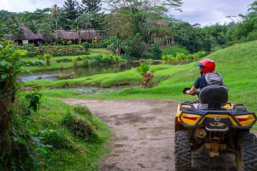 Quad Biking - one of the best fun activities in Mauritius