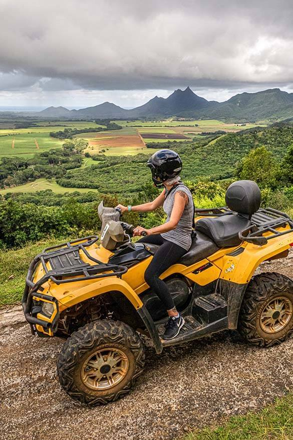 Quad Safari in Casela World of Adventures in Mauritius