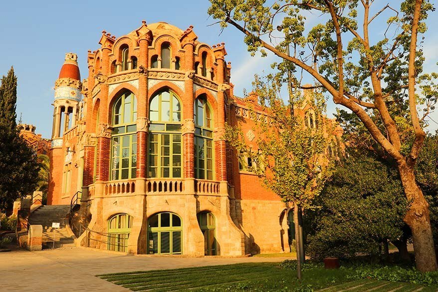 Sant Pau Art Nouveau Site - a real hidden gem that is well worth seeing even if you have just 2 days in Barcelona