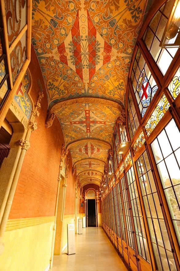 Sant Pau Art Nouveau Site - one of our favorite places in Barcelona