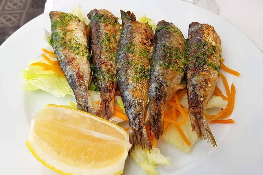 Pan-fried Sardines - Spanish Tapas Style