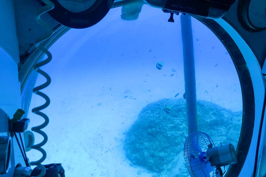 Submarine Experience - amazing underwater activity in Mauritius