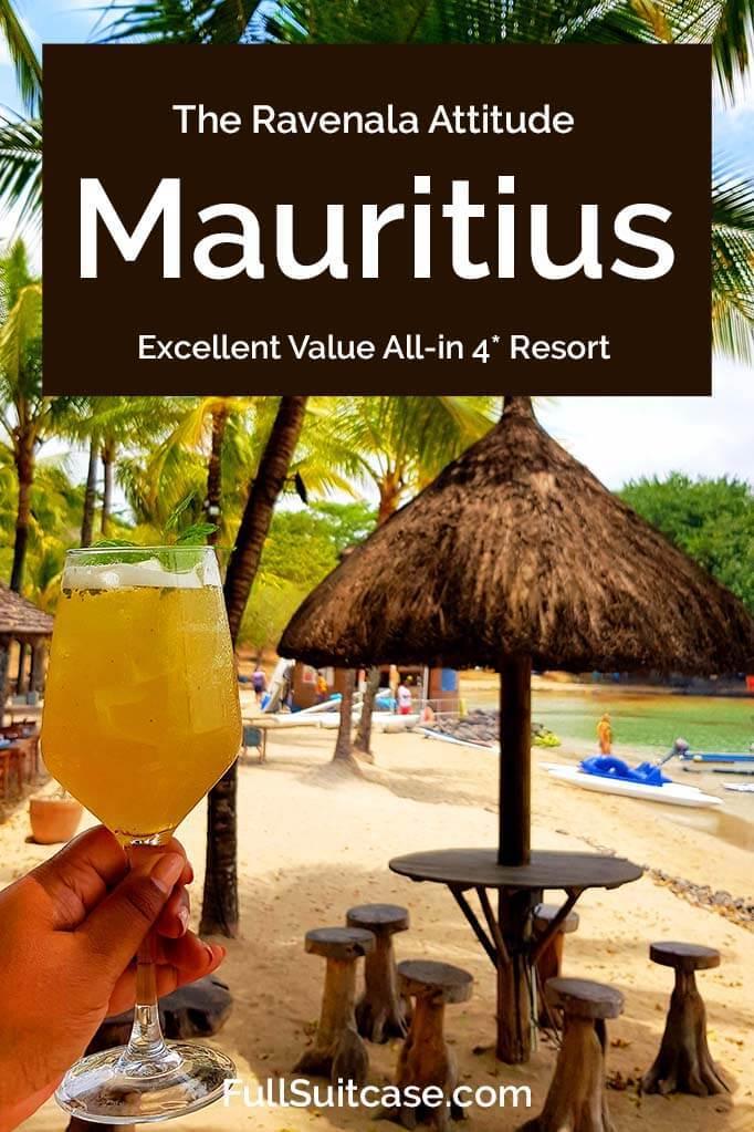 The Ravenala Attitude Review - Great value all inclusive 4 star resort in Mauritius