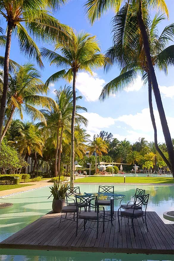 The Ravenala Attitude is a great value 4 star all inclusive resort in Mauritius