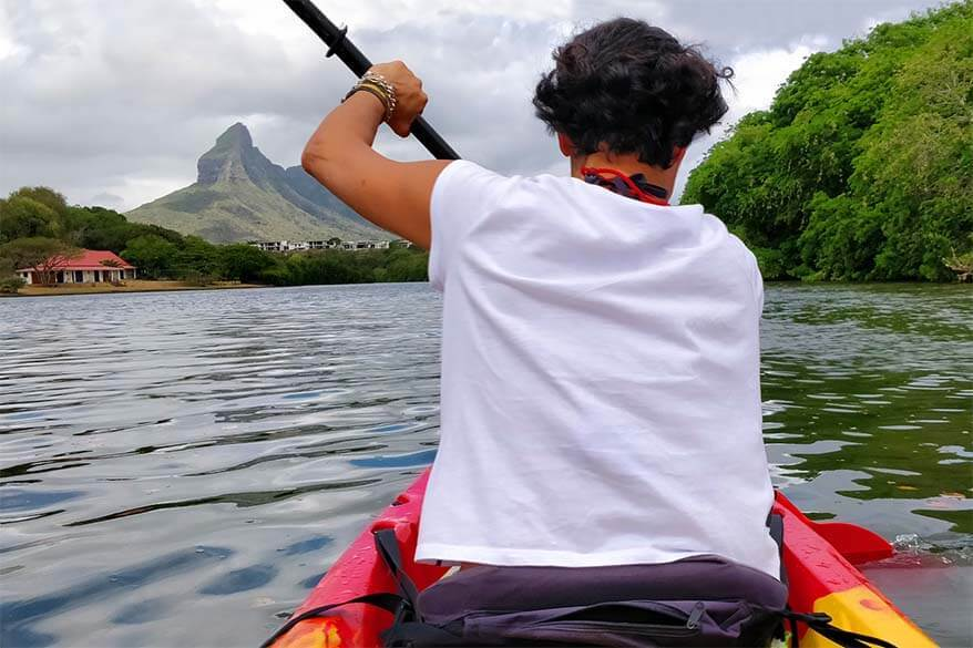Things to do in Mauritius - Kayaking in Tamarin Bay