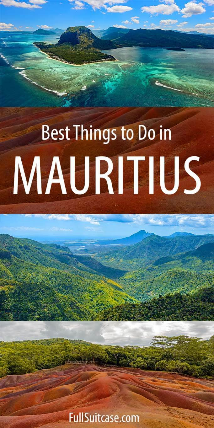 Things to do in Mauritius - places to visit and fun activities