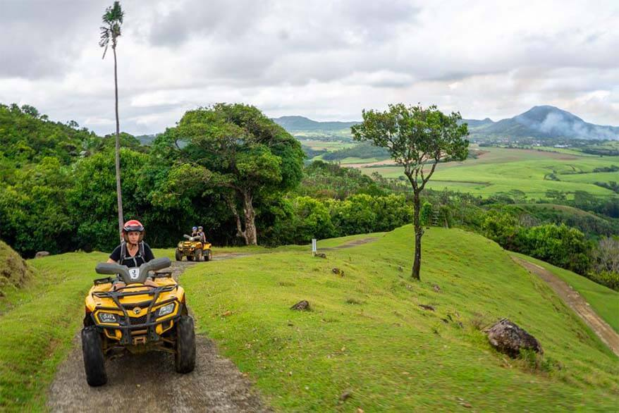 Things to do in Mauritius - quad biking