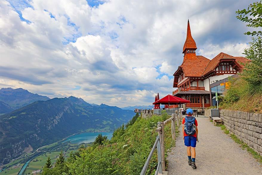 Things to see and do in Interlaken in one day - Harder Kulm is a must