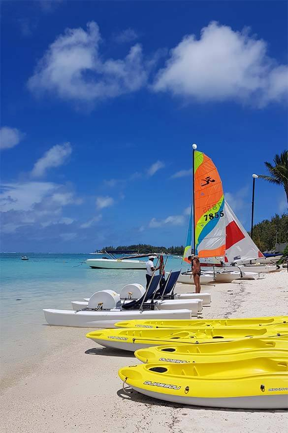 What to do in Mauritius - beach and water sports are a must