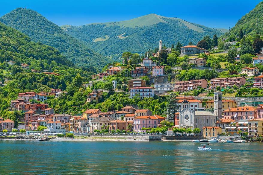 Argegno in Lake Como Italy