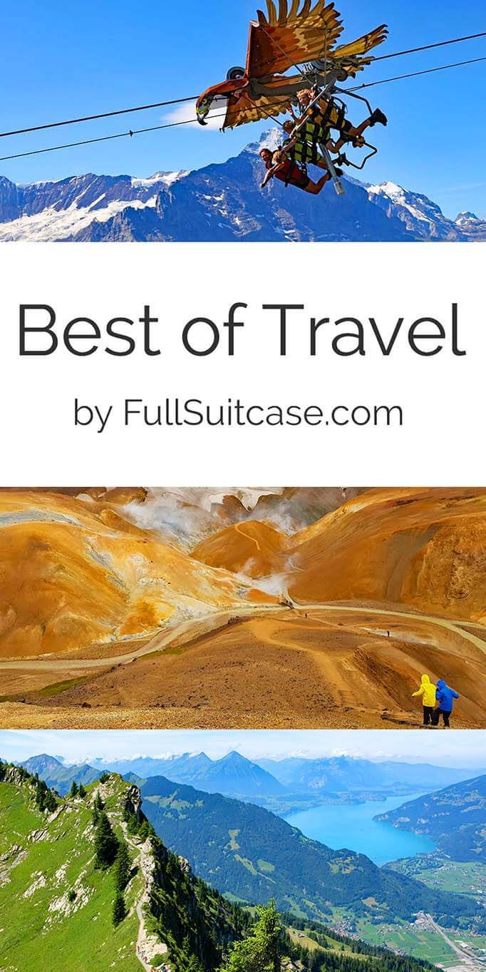 Best of travel 2019 - year review and travel inspiration