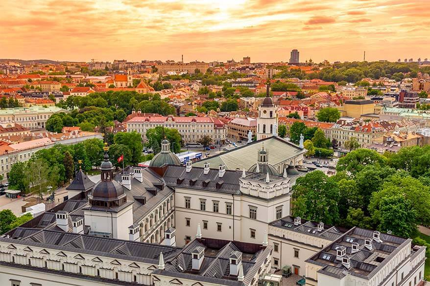 Best things to do in Lithuania - visit Vilnius Old Town