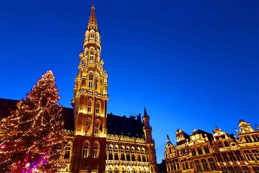 Brussels Christmas market - review, walking map, and practical tips for your visit