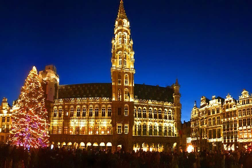 Brussels Christmas market - review, walking map, info and practical tips for your visit