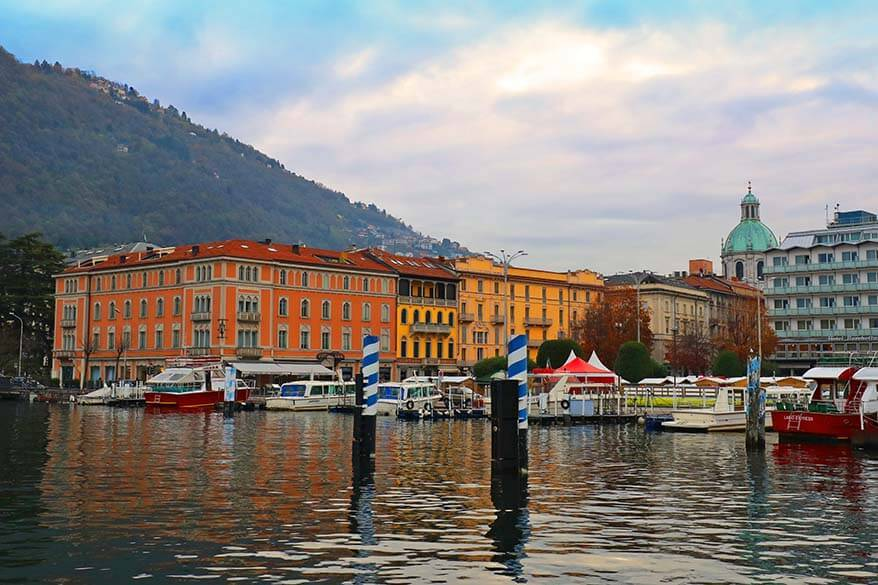 Como town is one of the best places to stay in Lake Como, Italy