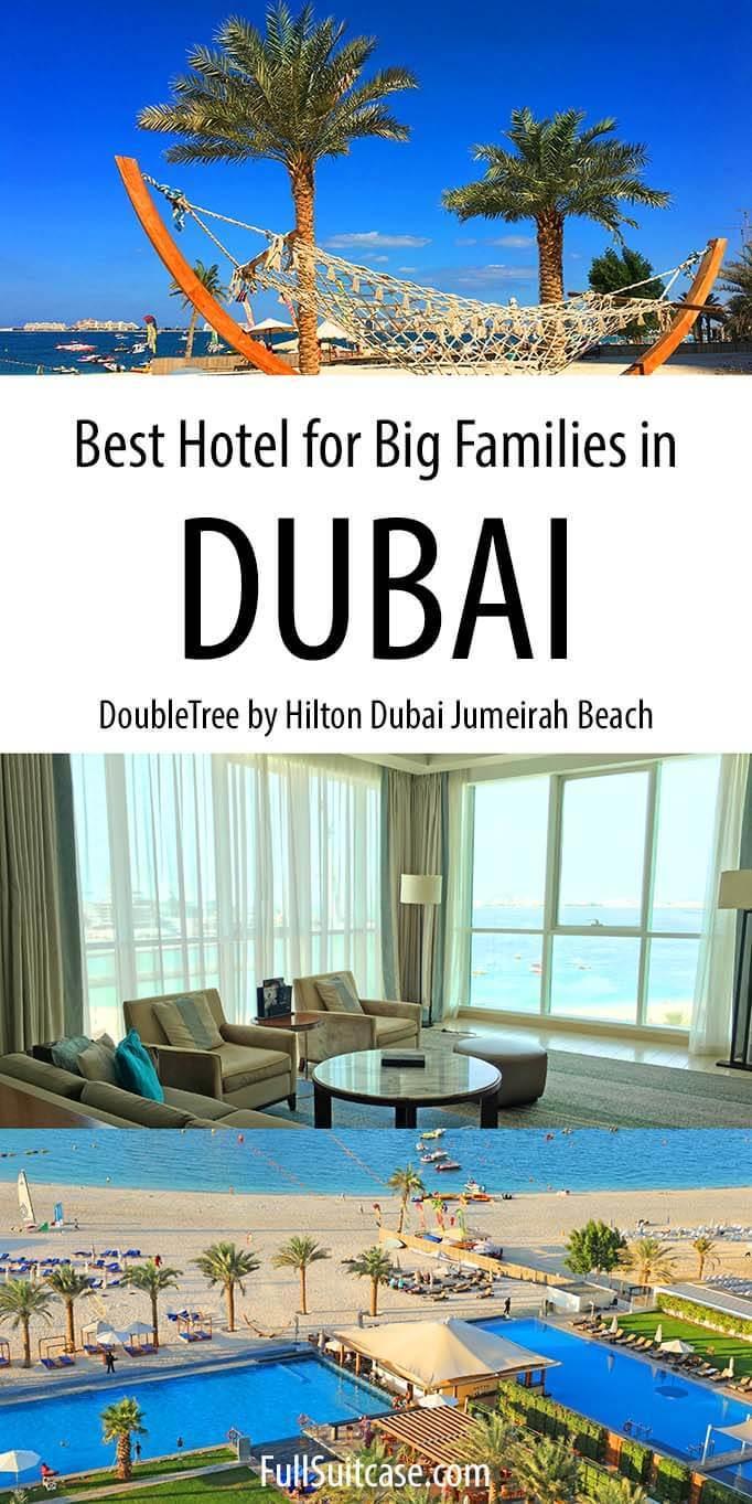 DoubleTree by Hilton Dubai Jumeirah Beach Hotel Review