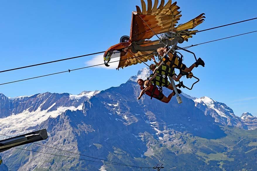 First Glider in Switzerland
